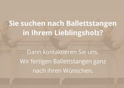 Ballettstangen in Ihrem Lieblingsholz